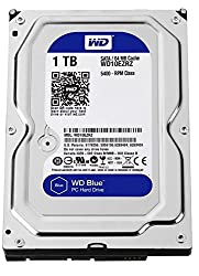WD Blue 1TB Internal Hard Drive (WD10EZRZ)