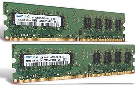 Mémoire RAM 4Go 2x 2Go Asus Striker II Formula DDR2800MHz PC2–6400