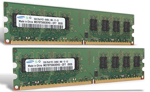 4Gb 2x 2Gb Ram Asus M4N78 Pro DDR2 800Mhz Pc2-6400