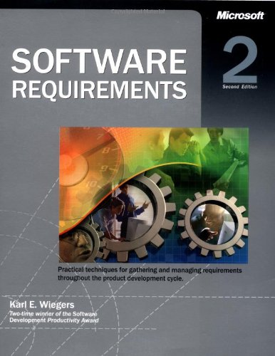 Software Requirements (Best Practices) por Karl E Wiegers