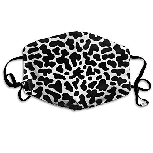 maske Animal Print Kuhflecken Mundmaske Gesichtskleidung Anti-Verschmutzung Outdoor-Maske Aktivitäten Warm Winddicht Gesichtsmasken Design14 ()