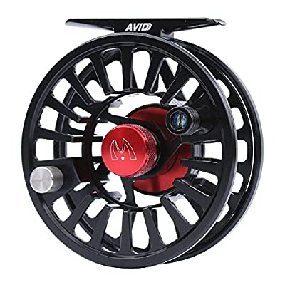 M MAXIMUMCATCH Maxcatch Avid Series Best Value Fly Fishing Reel- 1/3, 3/4, 5/6, 7/8, 9/10-5 Color Available by Maxcatch