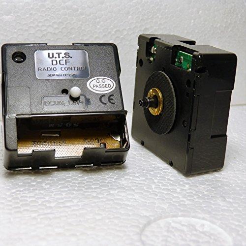 New Quarz Radio Control UTS Uhrwerk Gesamtlänge Schaft 11mm-Craft-DIY-Beschläge