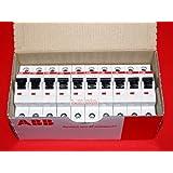 ABB STOTZ-KONTAKT GmbH 10x ABB Automat Leitungsschutzschalter S201-B16 16A 1p