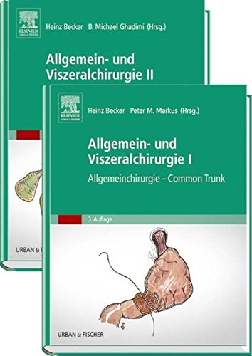 Becker, Set Allgemein- und Viszeralchirurgie: Band 1 Common Trunk, Band 2 Spezielle operative Techniken