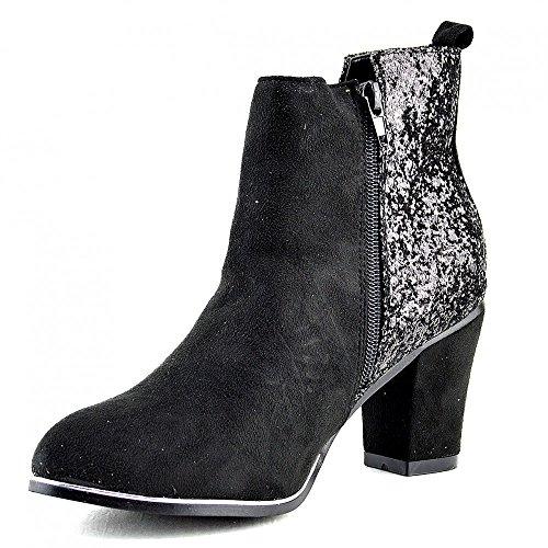 Kick Footwear, Scarpe da barca donna Nero (nero)