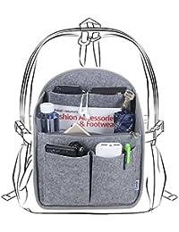 Luxja Backpack Organiser, Felt Organiser Insert for Backpack, Lightweight Backpack Organiser Insert, Big Enough for A4 Paper