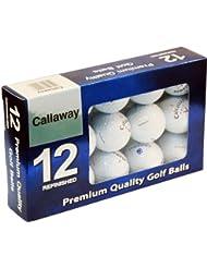 Callaway Premium Boite de 12 balles de golf du lac Blanc
