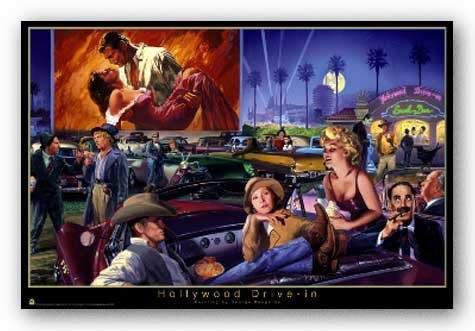 Marx Groucho - Hollywood Drive-In (Marilyn Monroe Groucho Marx Gone