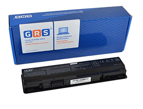 GRS Notebook Akku für Dell Vostro A840, A860, A860n, G069H, 1014, 1015, 1088, ersetzt: F287H, G069H, 312-0818, 451-10673, F286H, F287F, R988H, Laptop Batterie 4400mAh, 11.1V Dell Vostro 1088 Akku