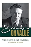 Brandes on Value: The Independent Investor (English Edition)
