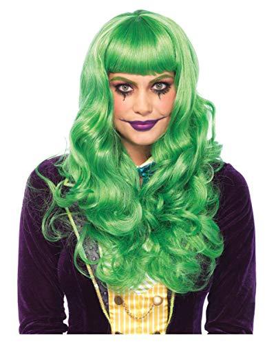 Horror-Shop Grüne Joker Damenperücke | Polyester/Polyamid | ()