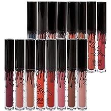 16 Couleurs Rouge à Lèvres Mat Richoose Maquillage Waterproof à Lèvres Liquide Beauté Brillant Lip Gloss Liquid Matte Longue Tenue Gloss Lipstick