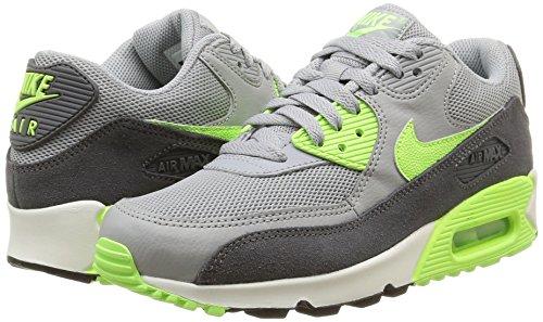 Nike Damen, Sportschuhe, wmns air max 90 essential, grau (wlf gry/ghst grn-drk gry-smmt), 38.5 -