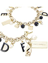 DOLCE gABBANA the one dESIRE &bracelet-charm bracelet en velours dans son emballage d'origine-bracelet-d &g