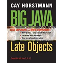 Big Java Late Objects 1st edition by Horstmann, Cay S. (2012) Loose Leaf