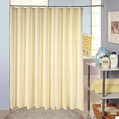 Jacquard fabric shower curtain/Padded waterproof mildew bathroom Hotel shower curtain-K
