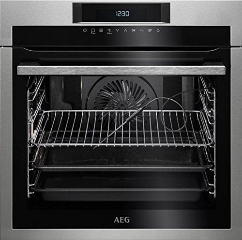AEG BPE742320M Electric oven 71L A+ Acero inoxidable - Horno (Medio, Electric...