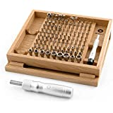 iFixit Universal Bit Kit - Kit universal de 128 brocas Destornillador magnético Pentalobe Tres puntas Torx