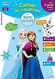 Cahier de vacances la Reine des Neiges de la GS au CP - Cahier de vacances...
