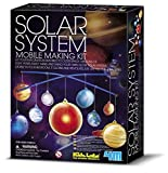 4M Glow-in-the-Dark Solar System Mobile Making Kit by 4M