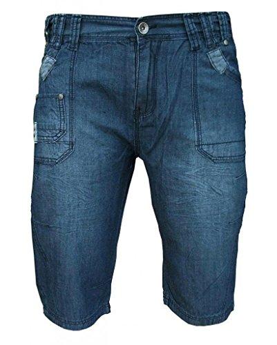 Advocate Mantop - Shorts casual leggeri in denim uomo Blu denim delavé