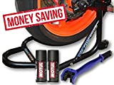 #10: Free Chain Cleaning Brush Blue with Motul Combo of C1 Chain Clean, C2 Chain Lube (150ml) and GrandPitstop Rear Paddock Stand