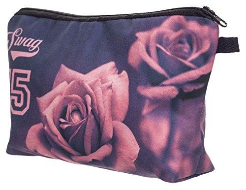 Nuovo Divertimento Di Polvere Bag Sacchetto Di Stampa Roses Con Swag Make Animale Kukubird Kukubird Foto Modello up OH57wwqd