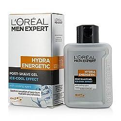 LOreal Men Expert Hydra Energetic Post Shave Gel 100ml/3. 3oz