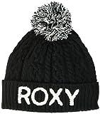 Roxy Fjord Beanie Bonnet à Revers pour Femme Anthracite/Solid, FR : 2XL (Taille...