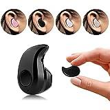 Eximtrade Ultra Mini Sin Hilos Bluetooth Estéreo Auriculares con Manos Libres Micrófono para Smartphones y Tablets (Negro)
