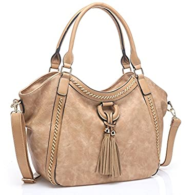 UTAKE Women Handbags Leather Handbags Shoulder Bag PU Leather Bag Large Tote Bag UKUT59