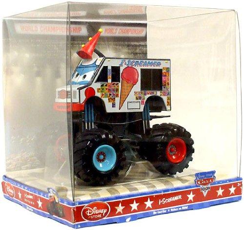 Disney Pixar Cars TOON Exclusive 1:48 Die Cast Car I-Screamer Monster Truck (Disney Cars Monster Truck)