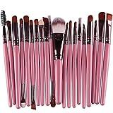 20pcs Make Up Sets Soft Powder Foundation Eyeshadow Eyeliner Lip Makeup Brushes by Zhejia