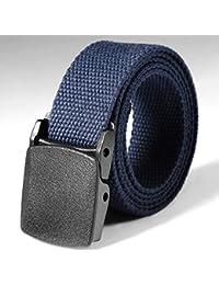 CHIGANT Cinturón de Cintura de Nylon Sólido de Supervivencia Ajustable Táctico Cinturones