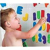 Buyer-first Letras y números del baño 36PCS para el juguete del baño de los niños