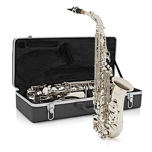 Saxofón Alto Gear4music Níquel