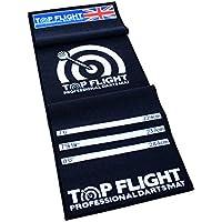 Top Flight PROFESSIONAL DARTS MAT DART OCHE THROWING DISTANCE MARKER NON SLIP BACKING 275x66cm