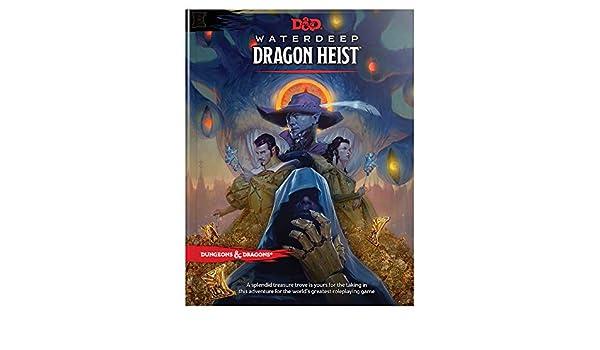Buy D&D Waterdeep Dragon Heist HC (Dungeons & Dragons) Book