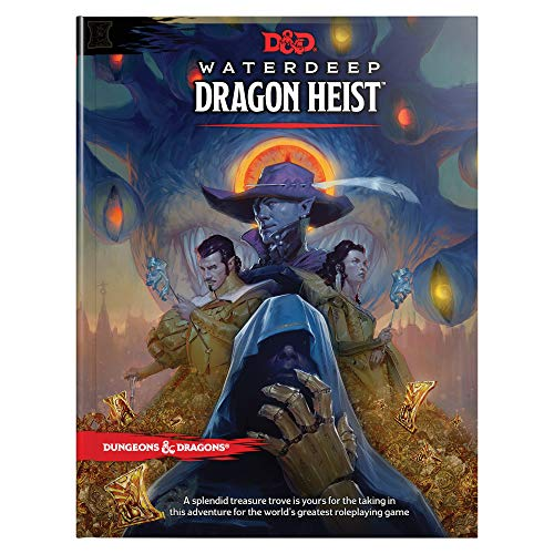 D&d Waterdeep Dragon Heist Hc (D&d Adventure) for sale  Delivered anywhere in UK