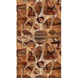 AG Design Abstraktion, Gardine/Vorhang, 140x245 cm, 1 Teil, Stoff, Multicolor, 0,1 x 140 x 245 cm