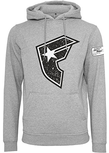 Famous Stars and Straps Herren Composition Hoody T-Shirt, h.Grey, XXL
