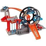 Mattel W5094 Hot Wheels Turbo Garage - Aparcamiento