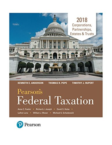 Pdf pearson s federal taxation 2018 corporations partnerships pearson s federal taxation 2018 corporations partnerships estates amp trusts kindle edition by thomas r pope timothy j rupert kenneth e anderson download it fandeluxe Choice Image