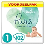 Pampers Pure Protection Maat 1 (2-5kg), 102 Luiers