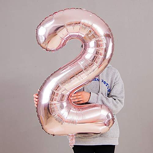 c11495e695f7 Juland Luftballons 25. Geburtstag XXL Riesen Folienballon Luftballon ...