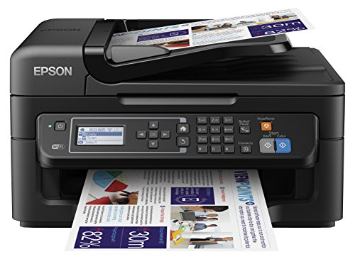 Epson WorkForce WF-2630WF Stampante Inkjet, 4-in-1 con Wi-Fi, Multicolore