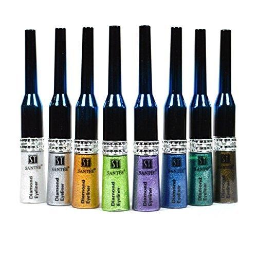 santee-exklusiver-diamond-eyeliner-eyeliner-flussig-lange-haltbarkeit-make-up-green