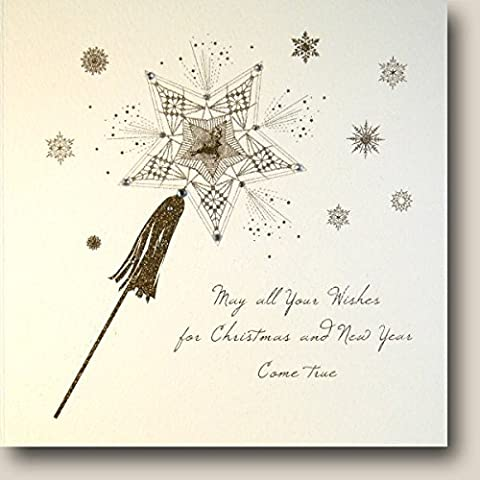 Five Dollar Shake carte de Noël, peuvent tous vos souhaits pour Noël... carte | Qw8