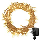69ft 20M 200 LED Indoor Fairy Lights Remote & Timer Warm White for Bedroom Wedding Party Christmas Decoration